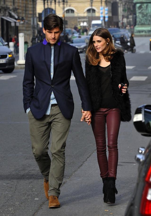 STREET LOOKS AT PARIS FASHION WEEK AW 2012