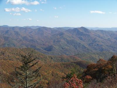 Southeast US: Día 3, 2ª parte, Great Smoky Mountains & Blue Ridge Parkway