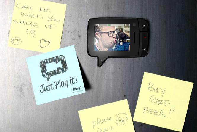 Friday's Gadget: The Play Video Memo