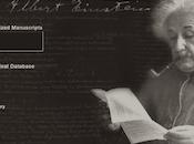 Nuevo sitio electrónico archivos Albert Einstein