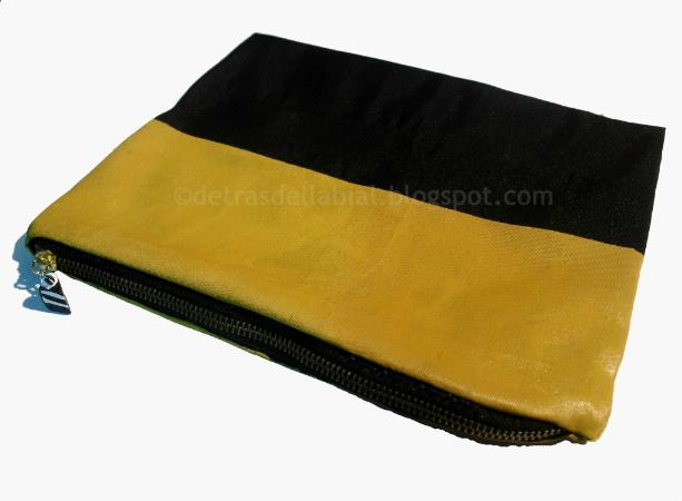 DIY: Clutch Black & Mustard