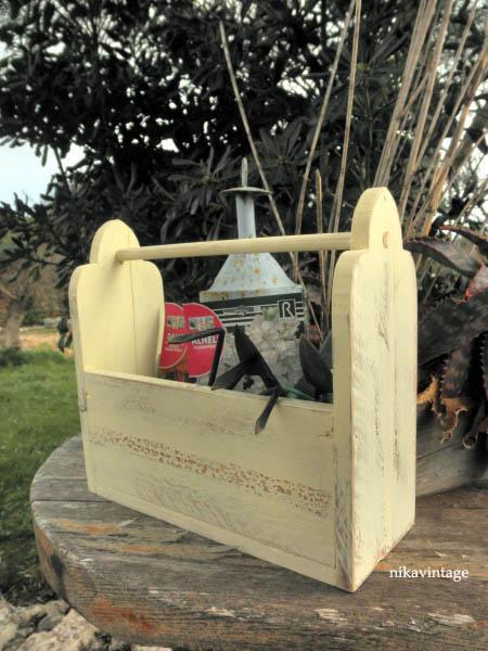 Cesta de madera hand made paperblog - Cestos de madera ...