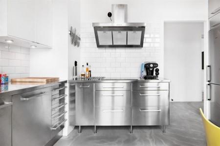 Cocina industrial y suelo de cemento paperblog for Material de cocina industrial