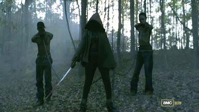 El personaje de Michonne entrará en la tercera temporada de The Walking Dead