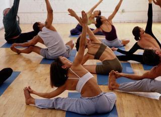 """El Despertador: En el gym del programa hacemos """"stretching"""""""
