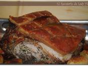 Paleta cerdo horno