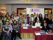 Foto grupo asistentes CONGRESO NACIONAL MIASTENIA GRAVIS CONGENITA. Madrid, 2012. Organizado AMES (Asociación ESPAÑA)