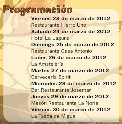 Rojales. IV Jornadas Gastronómicas 2012