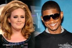 Que Lio: Usher está celoso de Adele y hace complot contra ella