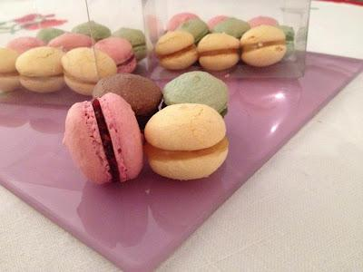 Receta vintage: Macarons de rosa the good food company