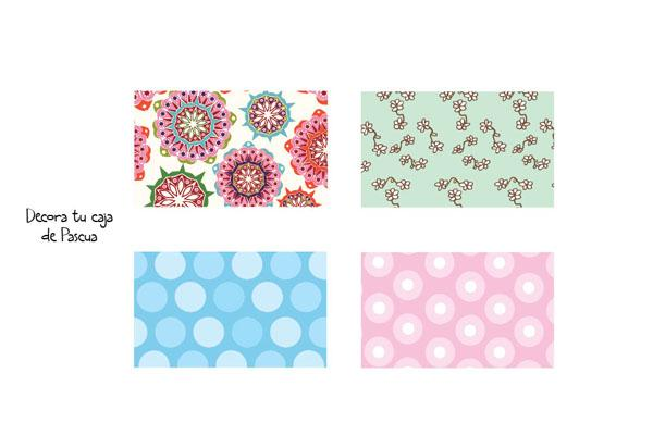Decora tu caja de huevos de pascua paperblog - Plantillas para decorar ...