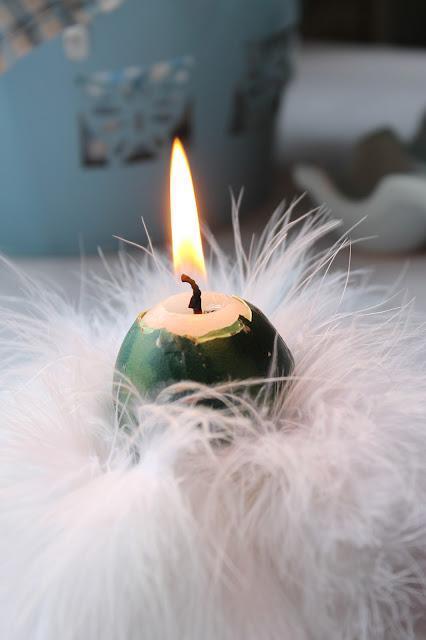Diy Decoración- Vela huevo - Egg candles
