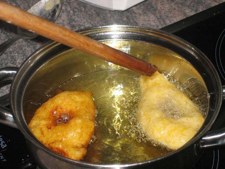 Buñuelos de calabaza - Bunyols