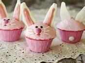 Cupcakes Conejo rosado