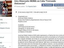 """Gira Itinerante MOMA Cuba """"Cerrando Distancias"""""""