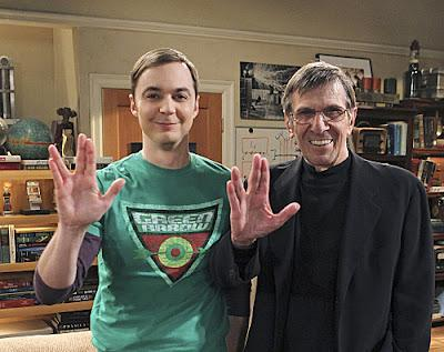 Leonard Nimoy hará un cameo en 'The Big Bang Theory'
