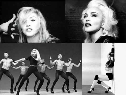 MADONNA COPIA A LADY GAGA