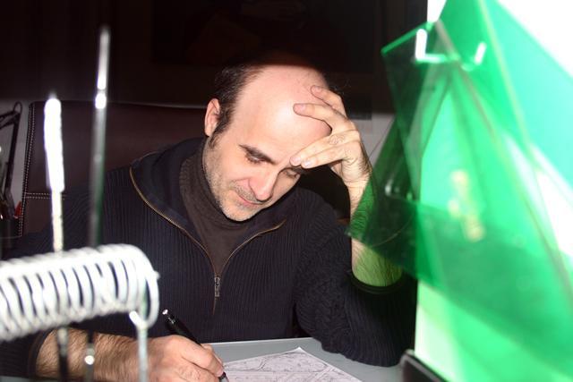 """""""Soy muy fiel a lo que tengo en mente"""", Juan Berrio ganador del premio de novela gráfica Fnac- Sins Entido"""