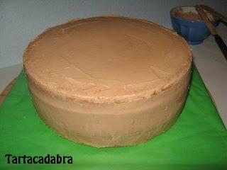 Como rellenar una tarta fondant