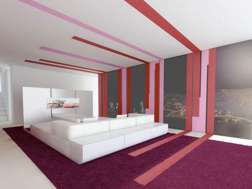 Dormitorios juveniles dise o interiorismo de dormitorios - Interiorismo dormitorios ...