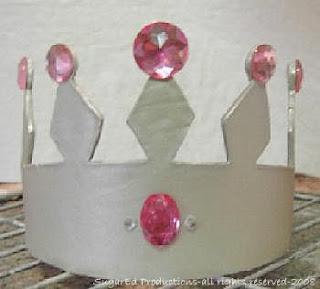 Paso a paso: Tarta fondant Corona de princesas