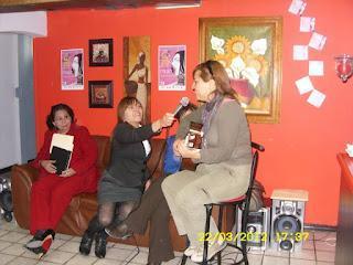 Grito de Mujer 2012 Chihuahua Mexico: Poesía con Aroma a Café