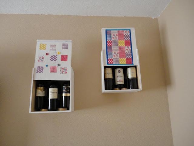 Diy el almacenaje de pared de cajas de vino de mar - Ikea almacenaje salon ...