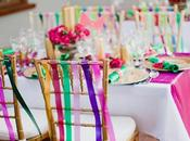 Ideas primaverales para decorar boda