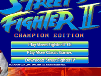 Capture d'écran de Street Fighter II' - Champion Edition
